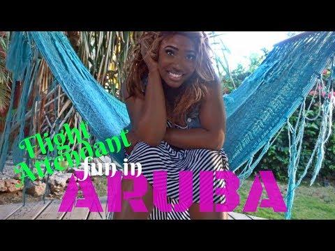 Flight Attendant Getaway | ARUBA | Vlogmas Day 14 | FA Life