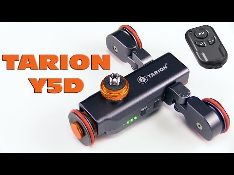 TARION Y5D Autodolly Motorized   Electric Camera Slider for DIY and How To Make
