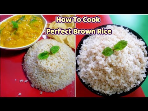 How to cook Brown Rice in Tamil| brown rice recipe in tamil | Health Benefits of brown rice