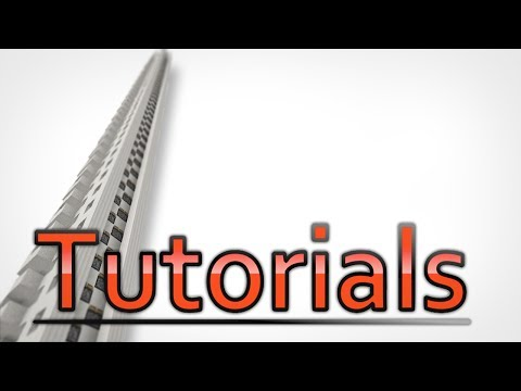 Minecraft FAST Piston Elevator Tutorial Using Redstone!