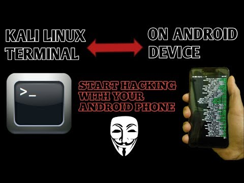 HOW TO USE KALI LINUX TERMINAL IN YOUR ANDROID PHONE [Start hacking in your android].