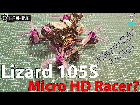 Eachine Lizard105s - Unboxing, Review & Flight Footage