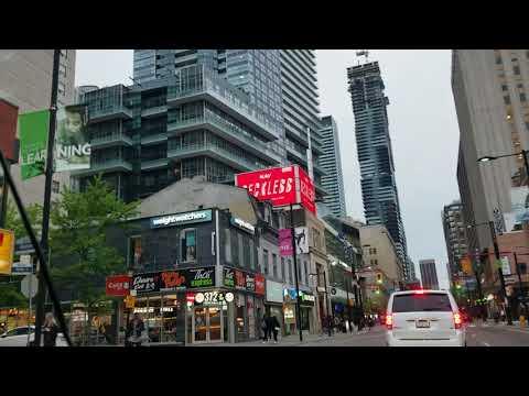 Driving Toronto Yonge Street - Vlog 20180521