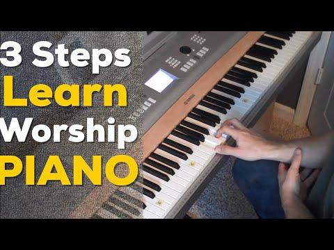3 Steps to Learn Worship Piano (Quick & Easy) - Matt McCoy
