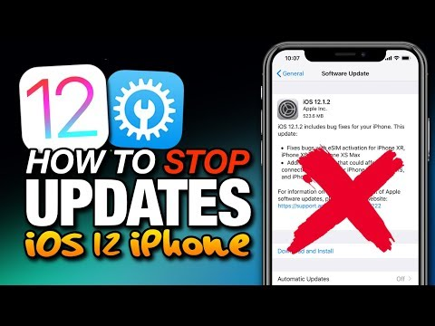 How To STOP & REMOVE UPDATES On iOS 12 - tvOS For iOS 12 On iPhone & iPad