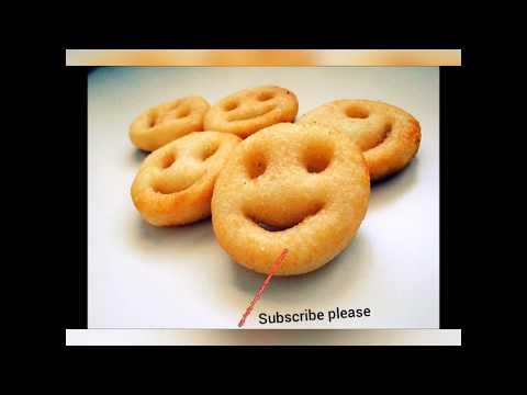 笑脸马铃薯饼 | Homemade Potato Smiley Fries [Happeabites]Potato Smiley Recipe | Homemade Easy Crispy Smile