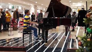 Queen - Bohemian Rhapsody at John Lewis Oxford Street - Piano Cover