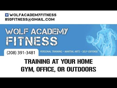 Wolf Academy Fitness Boise Idaho Card Deck Tearing