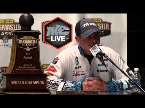 Previous Lake Hartwell Classic Champion Casey Ashely on Ike Live