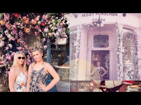 Peggy Porschen & Benihana - INSTAGRAM PLACES TO GO IN LONDON | London Bank Holiday Vlog♡
