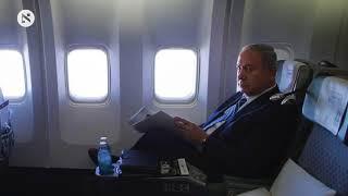 Netanyahu talks to reporters