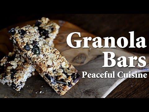 Granola Bars (almost vegan) ☆ グラノーラバーの作り方