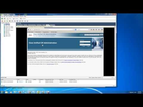 How To Change The IP Address On Cisco Unified Communications Manager (Call Manager)