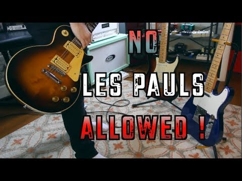 10 Riffs You Should Never Play On A Les Paul ..... Played On A Les Paul