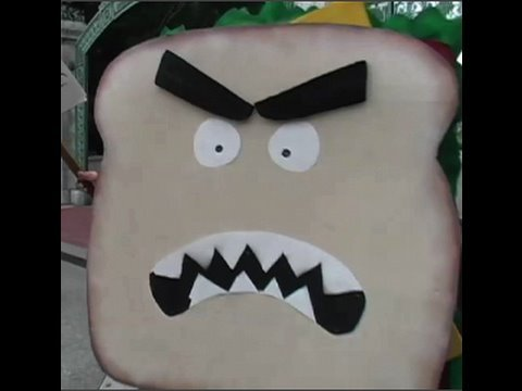Human Sandwich Halloween Costume : BFX