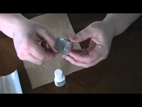 How to Make a Covered Trinket Box made from Soda Cans