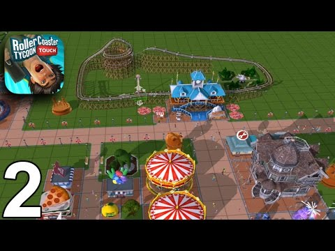 RollerCoaster Tycoon Touch - Level 8 - Gameplay Part 2 (iOS Android)