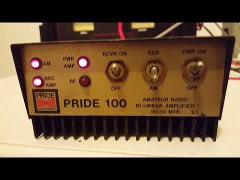Pride 100 mobile linear amplifier