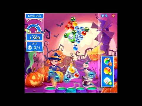 Bubble Witch Saga 2 level 763 NO BOOSTERS