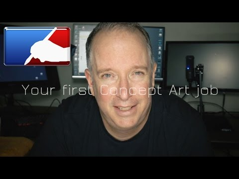 Your first concept art freelance job, how to invoice and cut the deal.