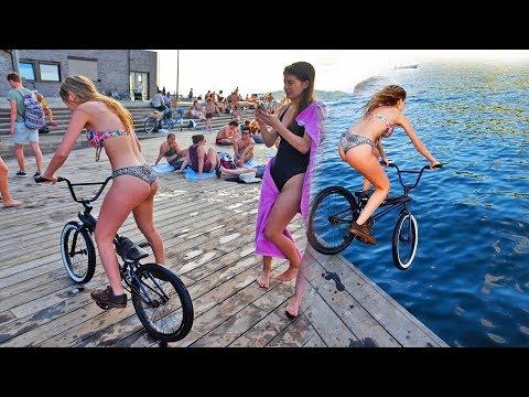 BMX GIRLS WITH NO LIMITS!!