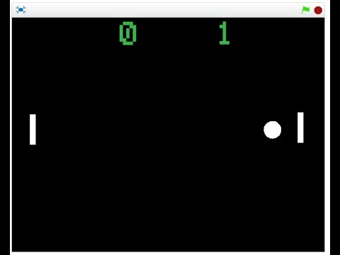 Scratch Pong Game (Bat and Ball) Video Tutorial