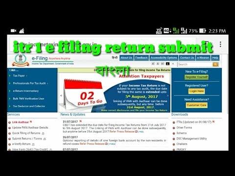 ITR 1, Bangla easy online fill up, income tax E filing return full video