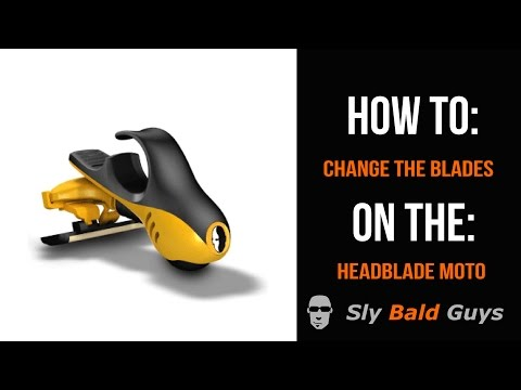 How To: Change Blades on HeadBlade Moto