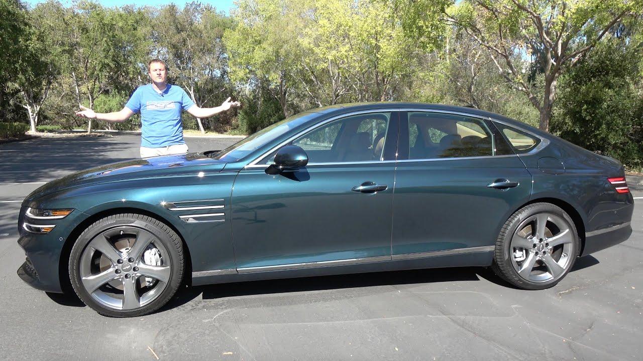 The 2021 Genesis G80 Is a Mercedes-Fighting Luxury Sport Sedan