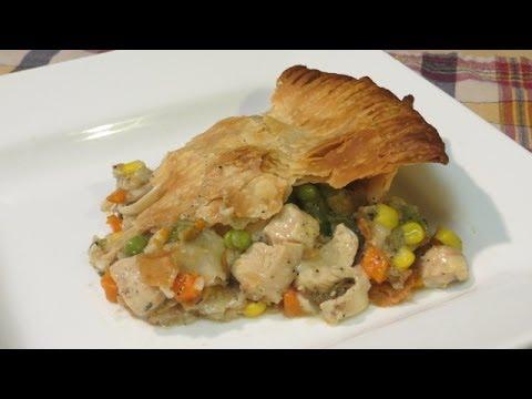 Homemade Chicken Pot Pie Recipe - How to make a Pot Pie