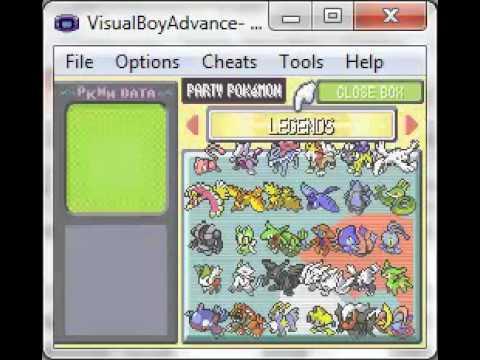 pokemon light platinum savegame file-all legendaries