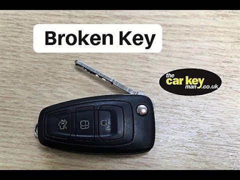 Key Repair Ford Transit Custom HOW TO