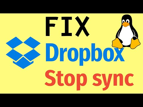 How to FIX: Dropbox will stop syncing in Linux