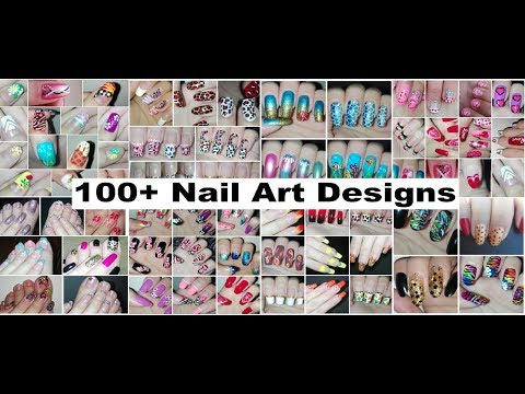 100+ NAIL ART DESIGNS Compilation for My 100th Video on YouTube: Nail Art Tutorials | Rose Pearl