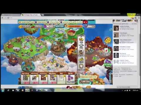 como sacar facebook ID y session ID, Hack de 4 gemas dragon city