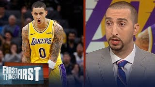 Nick Wright: Kyle Kuzma's development is critical to the Lakers success   NBA   FIRST THINGS FIRST
