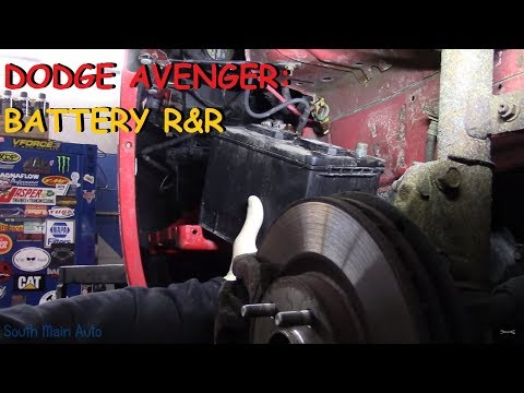 Dodge Avenger - Battery Replacement