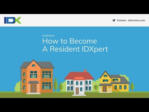 How to Become A Resident IDXpert