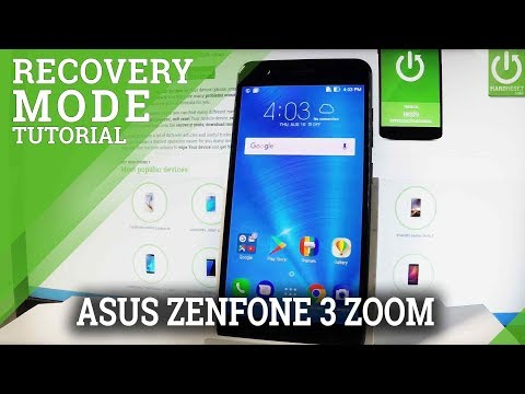 How to Enter Recover Mode in ASUS ZenFone 3 Zoom - Exit Recovery