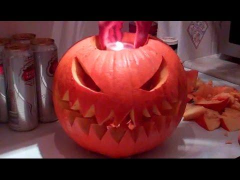 How to Carve / Make a Halloween Pumpkin Jack O Lantern