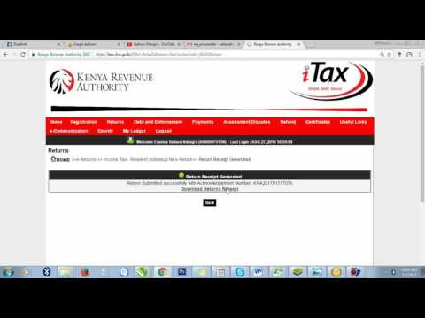 HOW FILL KRA  NIL RETURNS (https://itax.kra.go.ke)