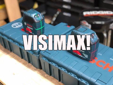 Bosch VisiMax Laser Line Levels
