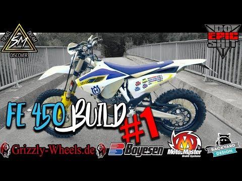 Husqvarna Fe450 Supermoto Build | The Beginning |