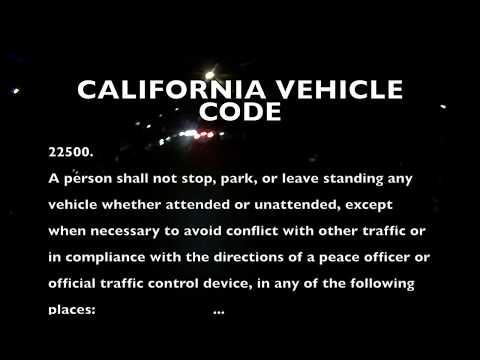 CA 6DJZ485 Uber/Lyft Driver Blocks Traffic, Does Not know the Law
