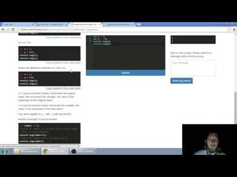 Web developerská škola, časť 13: JavaScript - Aritmetické operátory