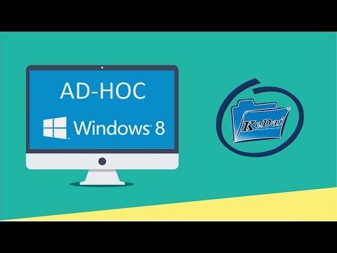 Cara Membuat Jaringan ADHOC pada Windows 8.1