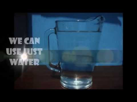 HOW TO MAKE WATER CANDLES!