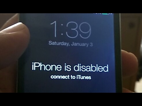 iPhone 4 passcode bypass without losing data~How to Remove iPhone is Disabled on iphone4/3gs
