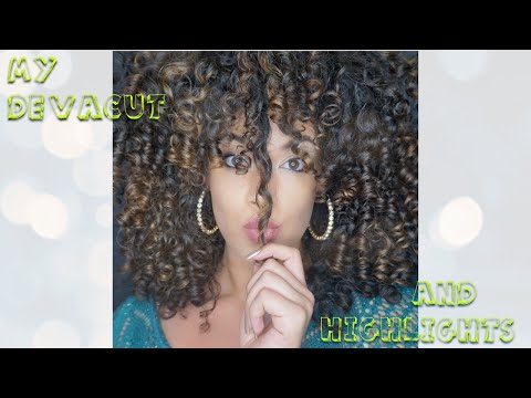 CURLY HAIR CARE: How to Prepare for a Devacut & Highlights