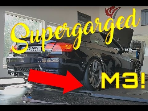 BMW E93★M3★Akrapovic★Dyno Run★Supercharged★V8★acceleration★sound★exhaust